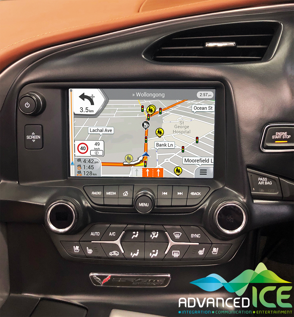 GM Integrated Navigation System - Advanced ICE